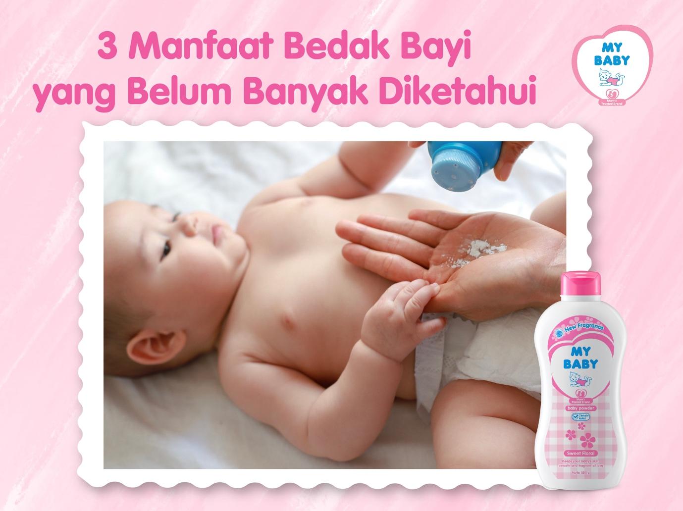 3 Manfaat Bedak Bayi Yang Belum Banyak Diketahui