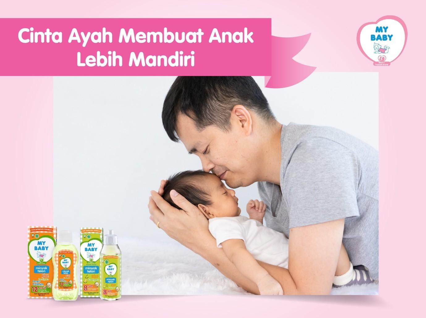 Cinta Ayah Membuat Anak Lebih Mandiri