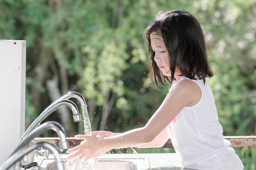 Cuci Tangan Dulu, Sayang