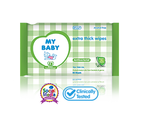 Extra Thick Wipes Antibacterial
