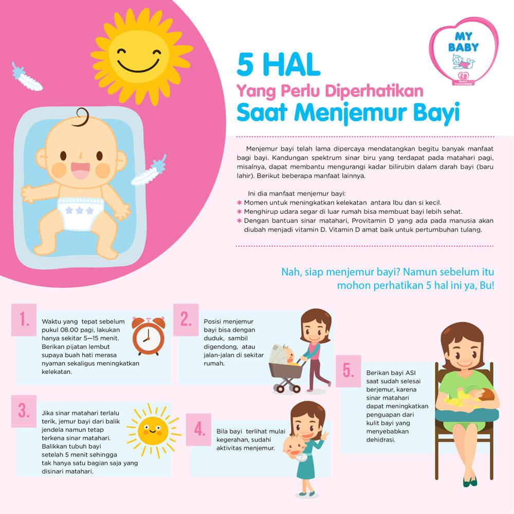 5 Hal Yang Perlu Diperhatikan Saat Menjemur Bayi