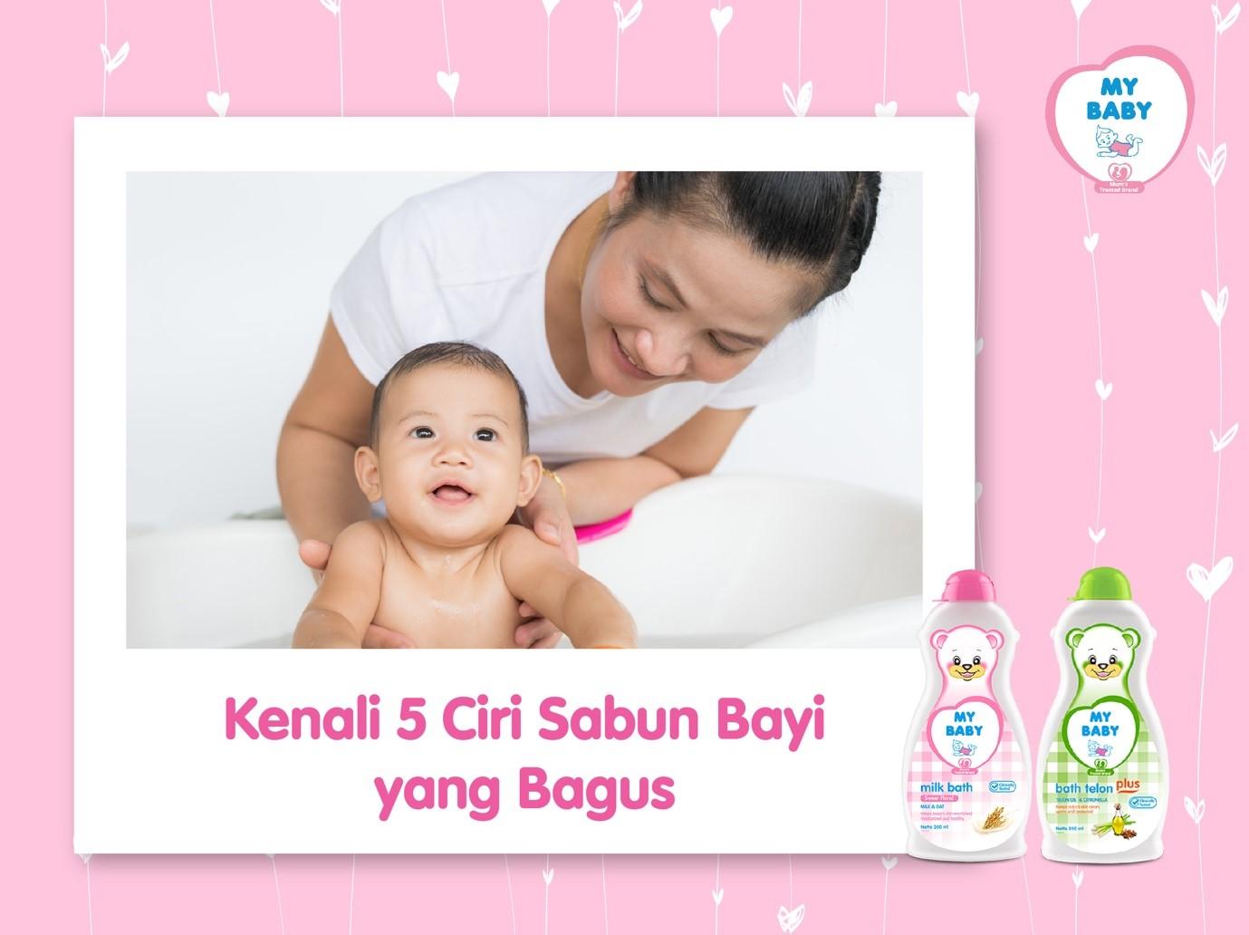 Kenali 5 Ciri Sabun Bayi Yang Bagus