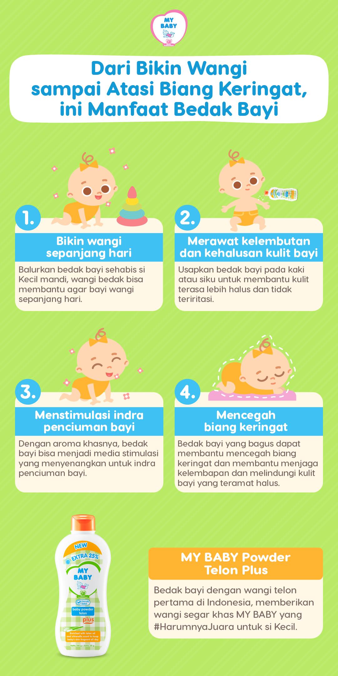Dari Bikin Wangi sampai Atasi Biang Keringat, ini Manfaat Bedak Bayi