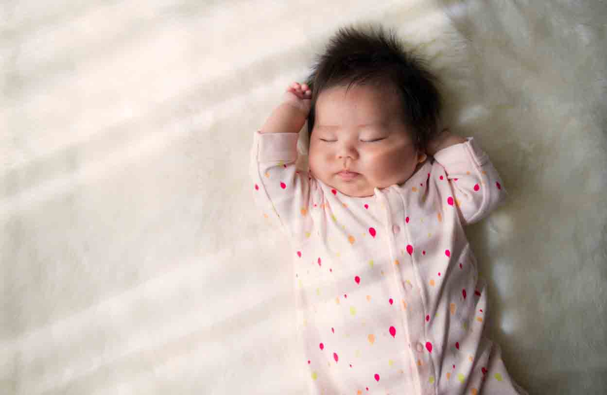 Manfaat Tidur Cerdaskan Bayi, Ternyata Minyak Telon Anti Nyamuk Kuncinya
