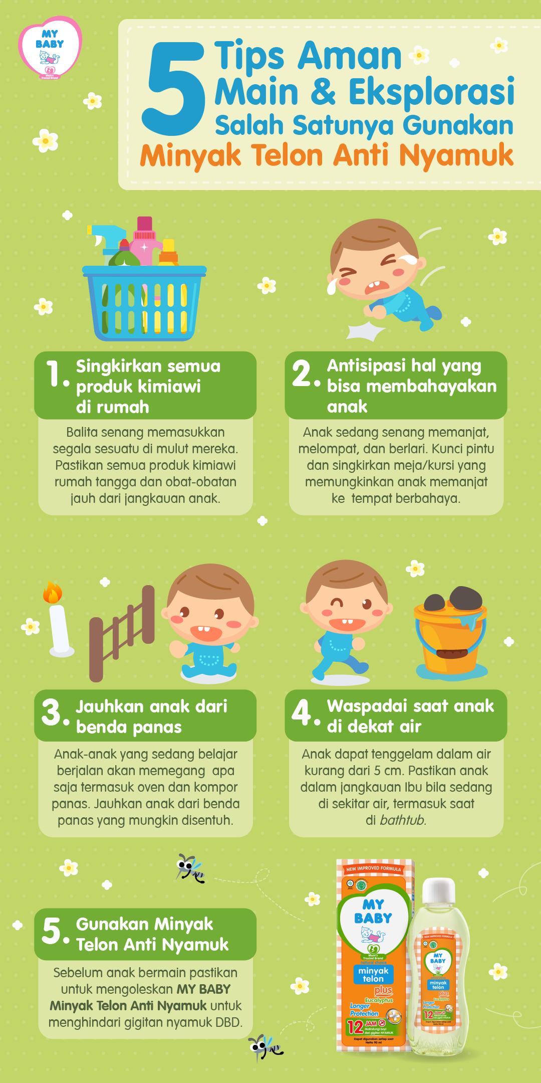 5 Tips Aman Main & Eksplorasi, Salah Satunya Gunakan Minyak Telon Anti Nyamuk