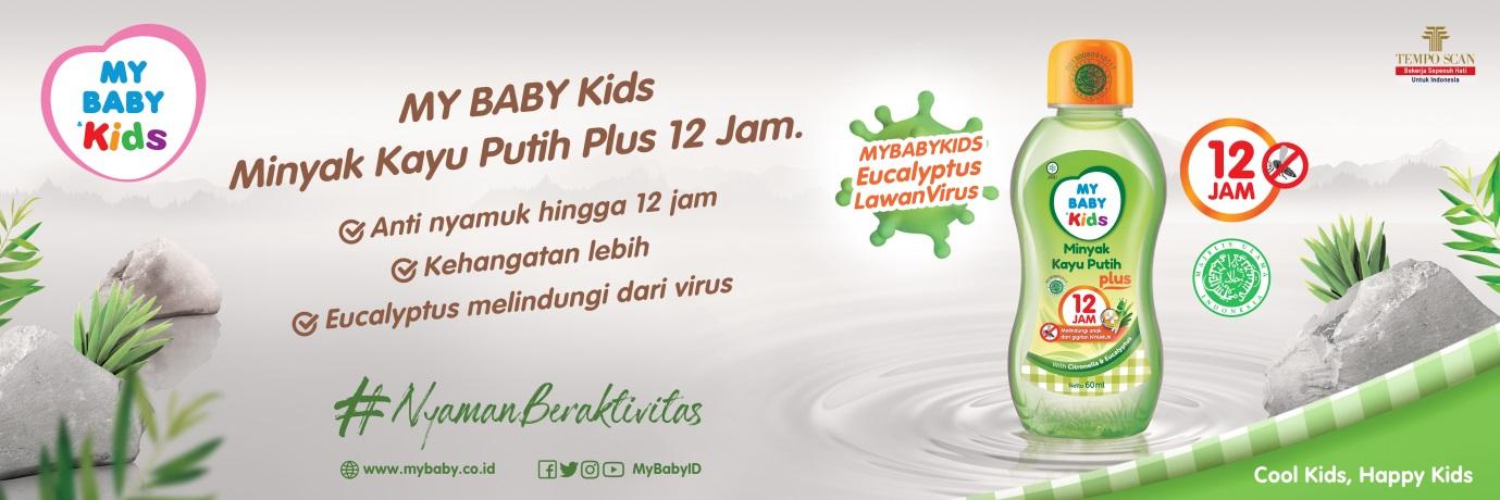 Redakan Perut Kembung hingga Anti Nyamuk, Ini 3 Keunggulan Minyak Kayu Putih Plus dari MY BABY Kids!
