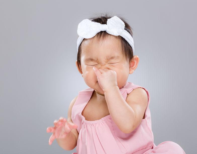 Saat Hidung Si Kecil Tersumbat