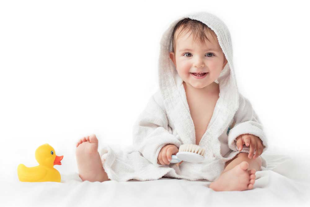 Tips agar si kecil tetap wangi