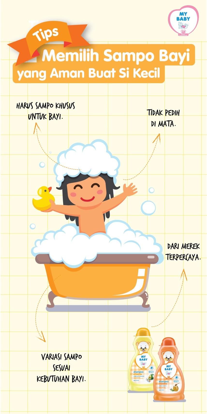 Tips Memilih Sampo Bayi Yang Aman Buat Si Kecil