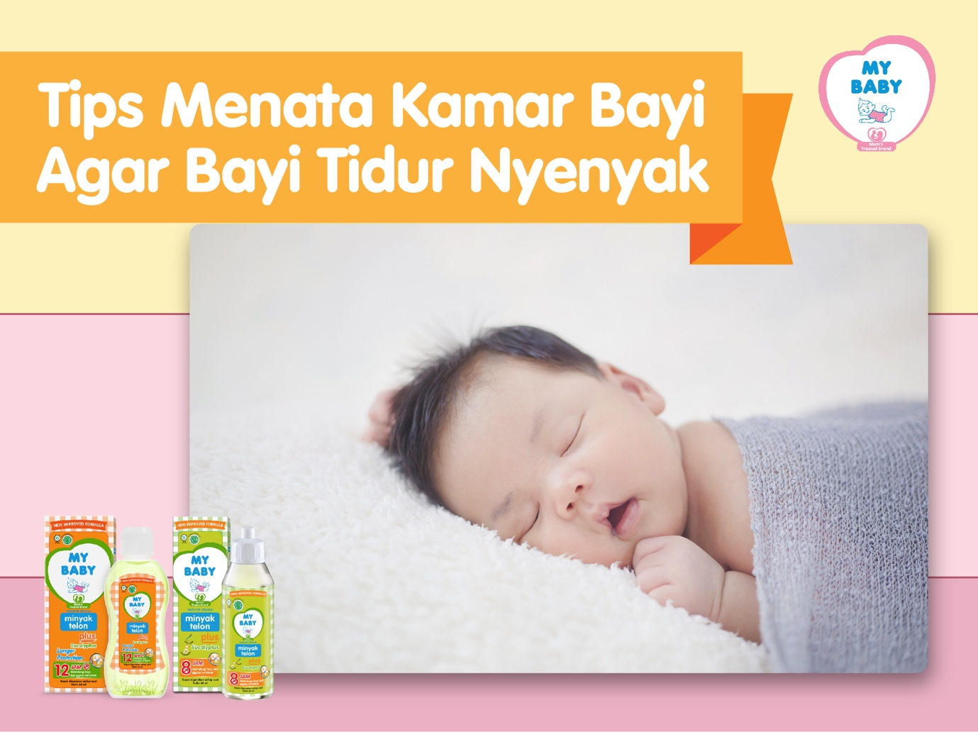 Tips Menata Kamar Bayi Agar Bayi Tidur Nyenyak