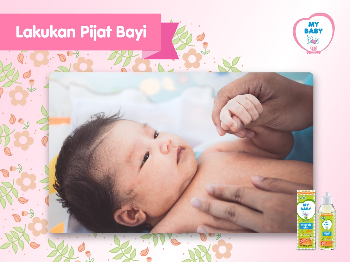 MyBaby - Bulan Pertama Perawatan Bayi Baru Lahir