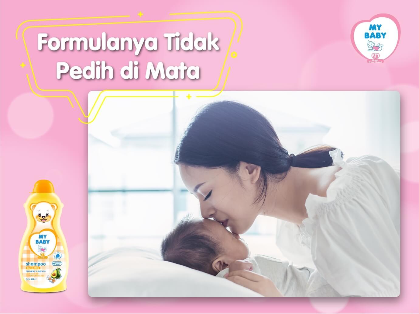 MYBABY - 3 Alasan Keramas Harus Gunakan Shampoo Bayi MY BABY