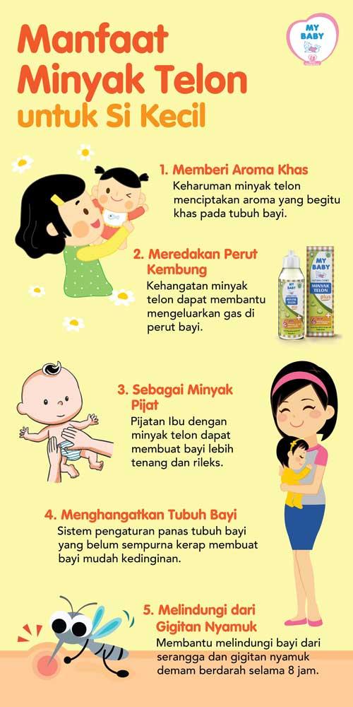 Inilah Khasiat Minyak Telon untuk Bayi