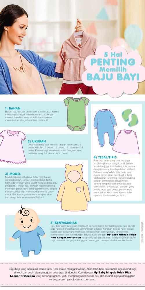 5 Hal Penting Memilih Baju Bayi