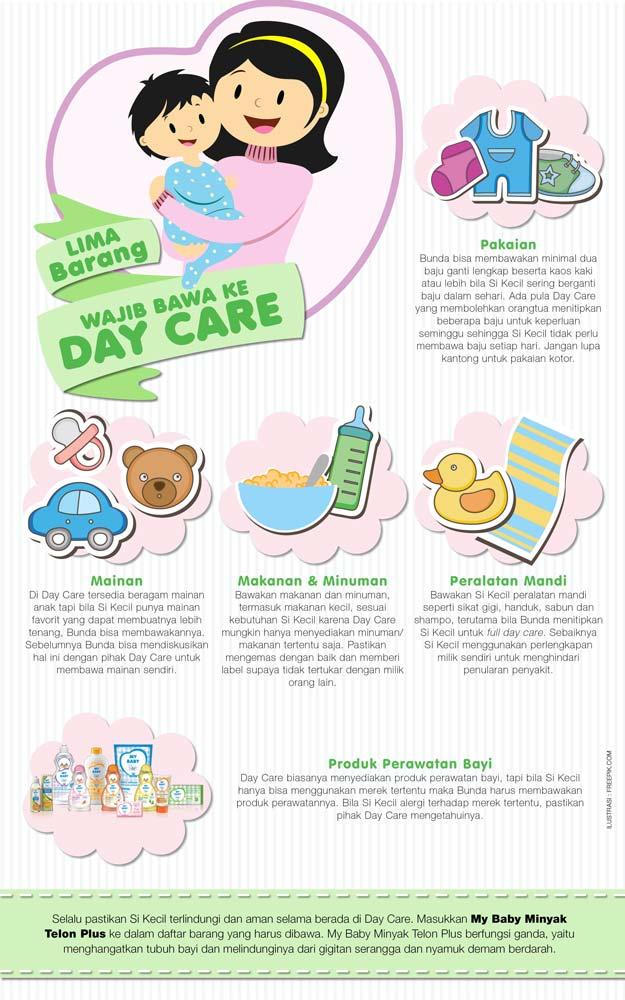 Lima Barang Wajib Bawa ke Day Care