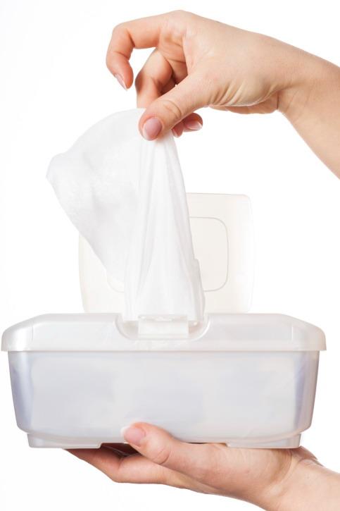 Memilih tisu basah