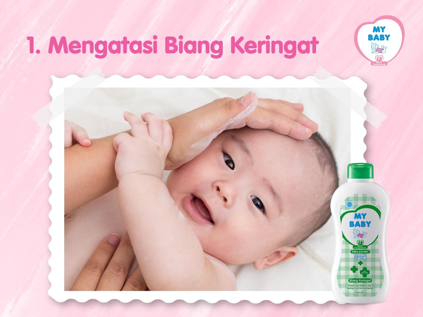 Mybaby - 3 Manfaat Bedak Bayi Yang Belum Banyak Diketahui