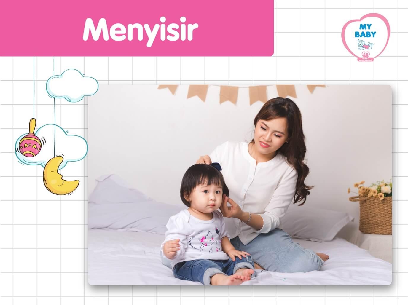 MyBABY - 4 Cara Melebatkan Rambut Bayi Secara Alami