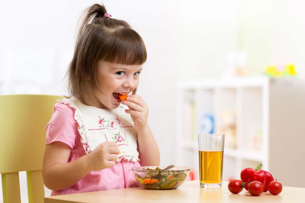 Terapkan Pola Makan 3J untuk Anak