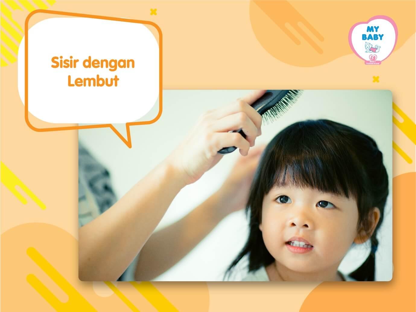 MYBABY - 4 Cara Merawat Rambut Anak Perempuan Tanpa Berantem