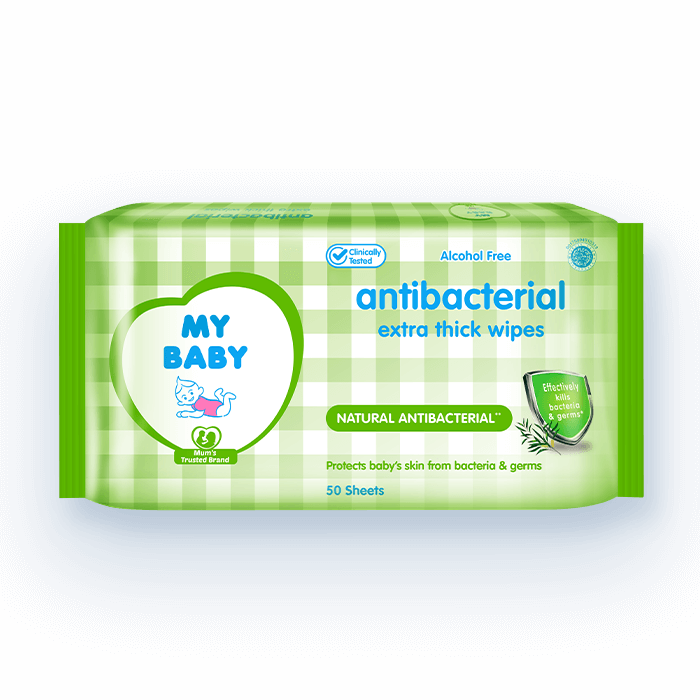 Antibacterial Extra Thick Wipes